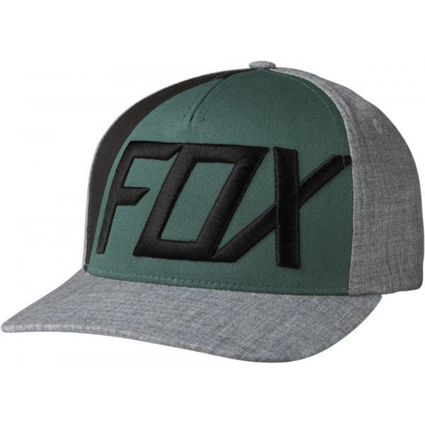 b0920c6c5d3 Pánská kšiltovka - Blocked Out Flexfit Heather Grey
