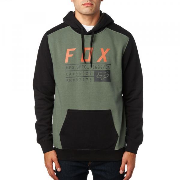 Pánská mikina - District 3 Pullover Fleece Dark Fatigue 57fef96783