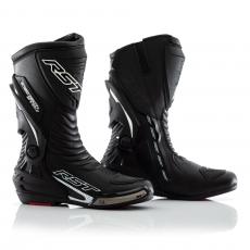 3d5e4b477d9 Pánské kožené boty na motorku s kloubem