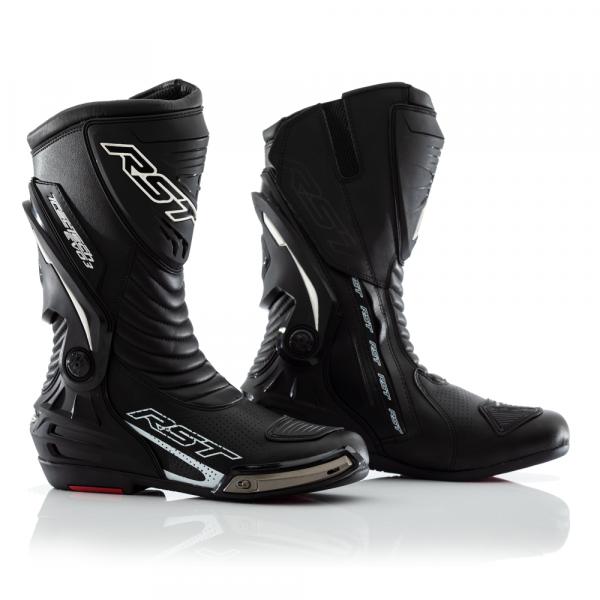 19e9168720e Pánské kožené boty na motorku s kloubem - 2101 TRACTECH EVO III SPORT CE  BOOT BLK