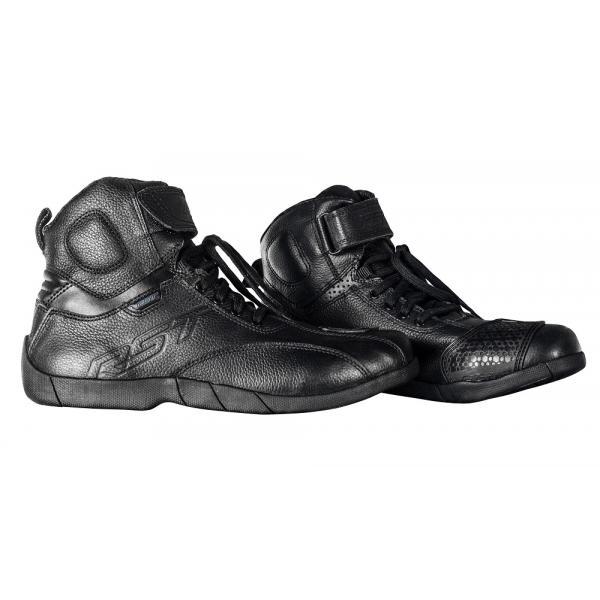 14690b74df4 Voděodolné pánské kotníčkové boty na motorku