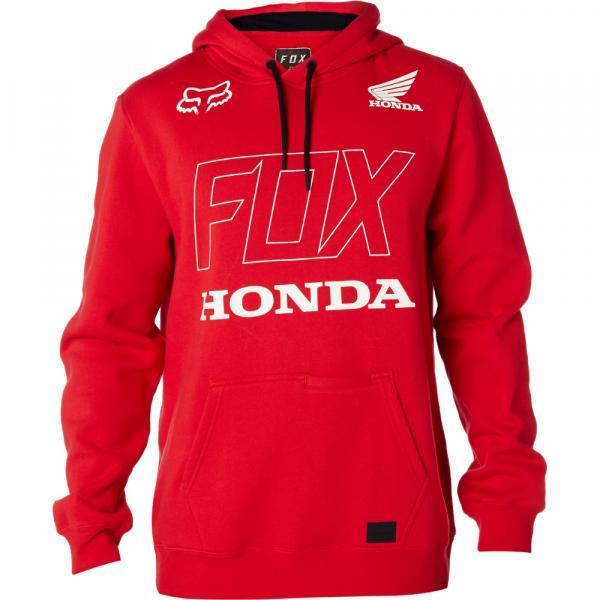 Pánská mikina - Honda Pullover Fleece Dark Red 5f806a4328