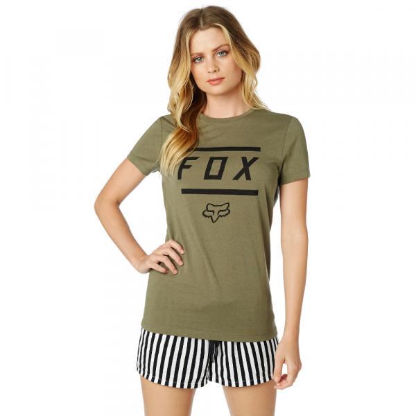 a4a3be36f0 Dámské tričko - Listless SS Crew Tee Fatigue Green