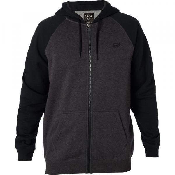 Pánská mikina - Legacy Zip Fleece Black Charcoal 30378449e6