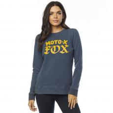 Dámská mikina Fox Moto X Crew Fleece Navy 07091799d3