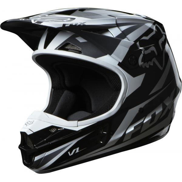 fb8a23e1fca V1 Race Helmet Black 2014