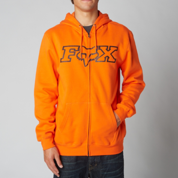 Pánská mikina - Legacy Fheadx Zip Fleece Orange e4105bb4e7