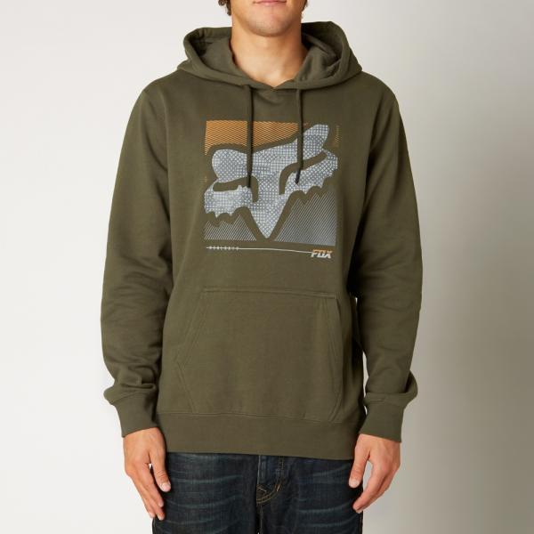 Pánská mikina - Reliever Pullover Fleece Army 8ccda79cd4