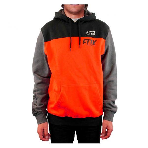 1b1e44857a3e Pánská mikina s kapucí - Latch Pullover Fleece Orange