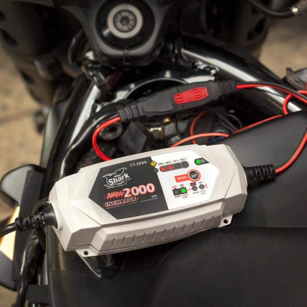 Nabíječka všech baterií - CT-2000, 6/12V, IP65,2A DC